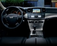 2007 Infiniti M35, Center Console And Steering Wheel, interior, manufacturer