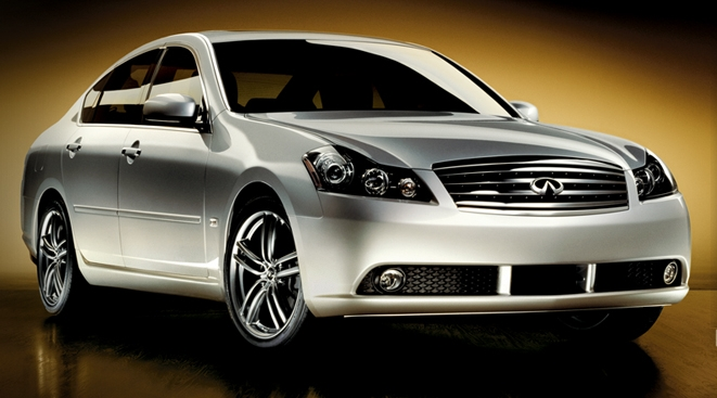 2007 Infiniti M45, Front Quarter Right Side View, manufacturer, exterior