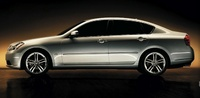 2007 Infiniti M45, Left Side View, manufacturer, exterior