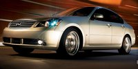 2007 INFINITI M45, Front Left Side Quarter View, exterior, manufacturer, gallery_worthy