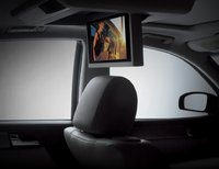 2007 Infiniti M45, Above Head Video Player, interior, manufacturer