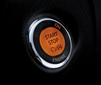 2007 Infiniti M45, Ignition Button, interior, manufacturer