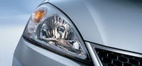 2007 Suzuki Aerio, Headlamps, exterior, manufacturer