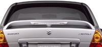 2007 Suzuki Aerio, Back View, exterior, manufacturer