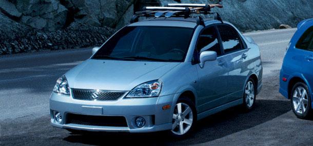 2007 Suzuki Aerio Base, Front View, exterior, manufacturer