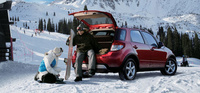 2007 Suzuki SX4 Base AWD, Rear Liftgate, manufacturer, exterior