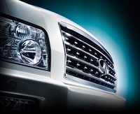 2008 INFINITI QX56, Headlight View, exterior, manufacturer, gallery_worthy