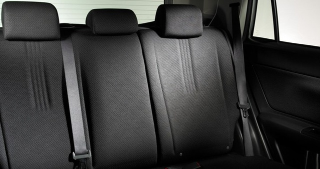 2006 Scion xA, Back Row Seating, interior, manufacturer, gallery_worthy