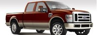 2008 Ford F-350 Super Duty, Front Right Side View, exterior, manufacturer, gallery_worthy