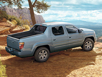 2008 Honda Ridgeline, Back Right Quarter View, manufacturer, exterior