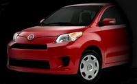 2008 Scion xD, Front Left View, exterior, manufacturer