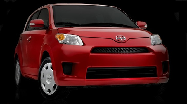 2008 Scion xD, Front Right View, exterior, manufacturer, gallery_worthy