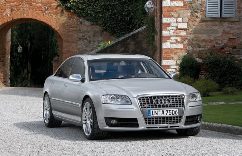 2007 Audi S8, 07 Audi S8, exterior, manufacturer