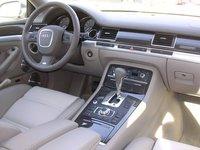 2007 Audi S8, dashboard, interior, manufacturer