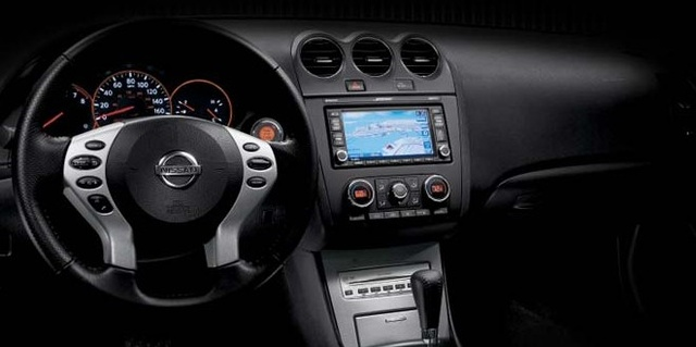 2008 Nissan Altima Coupe, Center Console, Interior, Manufacturer,  Gallery_worthy