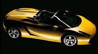 2007 Lamborghini Gallardo Spyder, side view, exterior, manufacturer