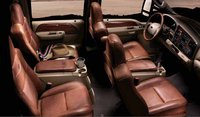 2007 Ford F-350 Super Duty, King Ranch package seating, interior, manufacturer