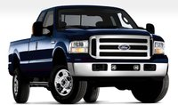 2005 Ford F-250 Super Duty, 07 Ford F-250 Super Duty Lariat package, manufacturer, exterior