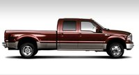 2007 Ford F-350 Super Duty, side view, exterior, manufacturer