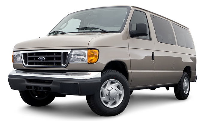 2007 Ford E-350, The 07 Ford E-350, manufacturer, exterior
