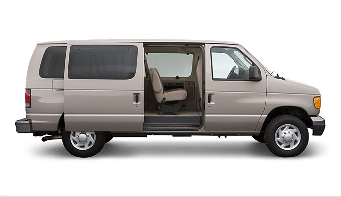 2007 Ford E-350, side view, manufacturer, exterior