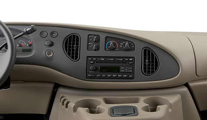 2007 Ford E-150, dashboard, interior, manufacturer