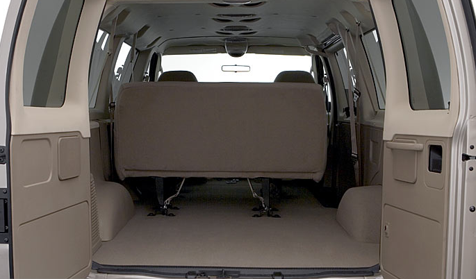 2007 Ford E-150, trunk space, manufacturer, interior