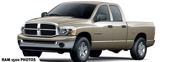 2006 Dodge Ram Pickup 1500, Front Left Side View, exterior, manufacturer