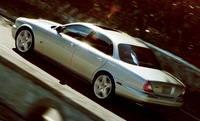 2007 Jaguar XJ-Series XJR, Left Side View, exterior, manufacturer