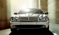 2007 Jaguar XJ-Series XJR, Front View, exterior, manufacturer