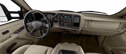 2007 Chevrolet Silverado Classic 3500, dashboard, interior, manufacturer