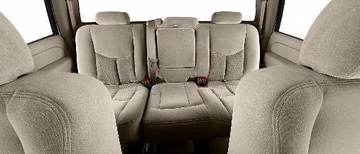 2007 Chevrolet Silverado Classic 3500, back seat, interior, manufacturer