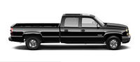 2007 Chevrolet Silverado Classic 2500HD, side view, manufacturer, exterior