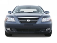 2008 Hyundai Sonata GLS, Head-on view, exterior, manufacturer