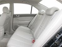 2008 Hyundai Sonata, Rear seat, interior, manufacturer
