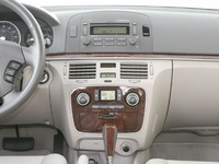 2008 Hyundai Sonata, Center console, manufacturer, interior
