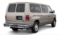 2007 Ford Econoline Wagon, back view, manufacturer, exterior