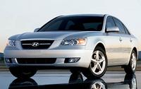 2007 Hyundai Sonata, Front-quarter view, exterior, manufacturer