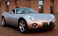 2008 Pontiac Solstice Base, Another front-quarter view, manufacturer, exterior