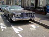 "1976 Ford Thunderbird, JT_Birds 76` ""Big Bird"" the day Repaired and Rechromed bumper was fitted / photo 3"