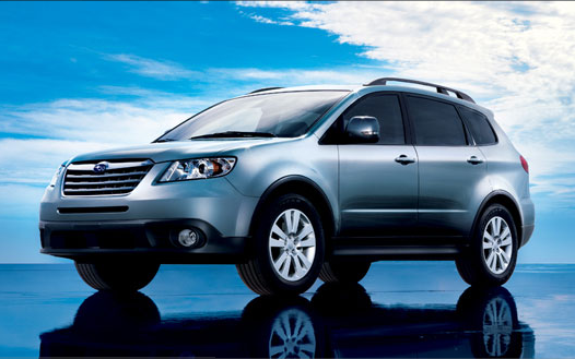 2008 Subaru Tribeca, 08 Subaru Tribeca, exterior, manufacturer