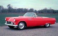 The 1955 Ford Thunderbird, exterior