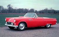 The 1955 Ford Thunderbird, exterior