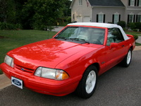 1992 Ford Mustang LX 5.0 Convertible, Picture of 1992 Ford Mustang 2 Dr LX 5.0 Convertible, exterior