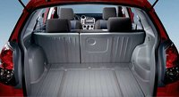 2008 Toyota Matrix, trunk space, interior, manufacturer