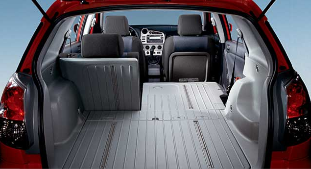 space matrix for toyota Toyota, notwithstanding its own mid-'90s rav4, insists the matrix started the crossover utility vehicle trend when it was introduced for 2003 built on the corolla platform, it is sometimes referred to as the toyota corolla matrix to help pump up corolla sales figures, and since the grand total.