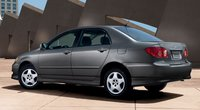2008 Toyota Corolla, 08 Toyota Corolla, exterior, manufacturer