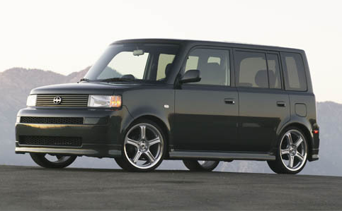 2005 Scion xB, Then 05 Scion xB, exterior