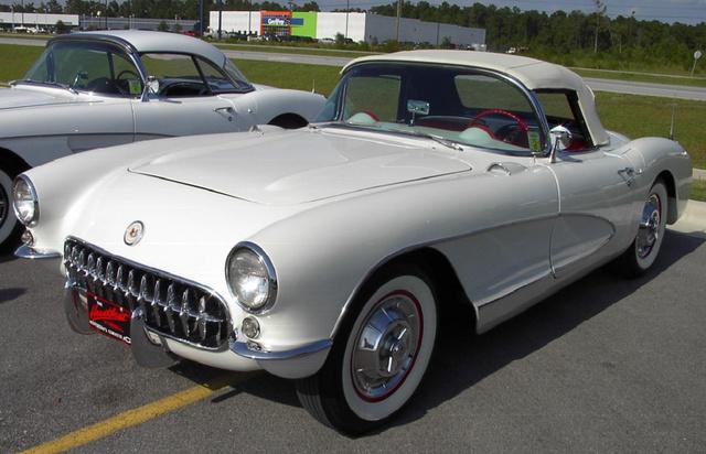 1956 Chevrolet Corvette, 1960 Chevy Corvette, exterior