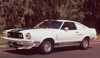 1977 Ford Mustang Cobra II, 77 Ford Mustang, exterior, manufacturer